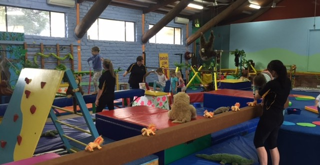 Gosford Gymnastics & Erina Kindergym on NBN - Video
